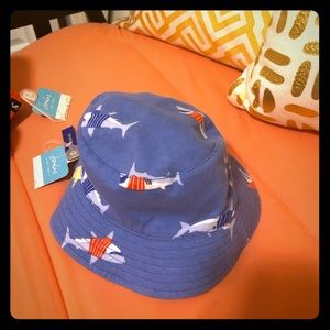 Joules sun hats for kids, reversible